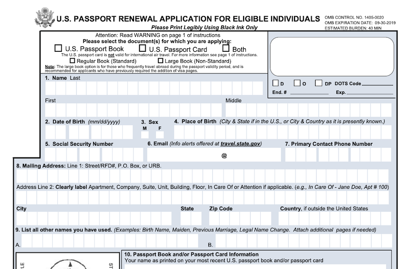 How to Fill Form DS-82 - Renewal of Passport | PDF Expert