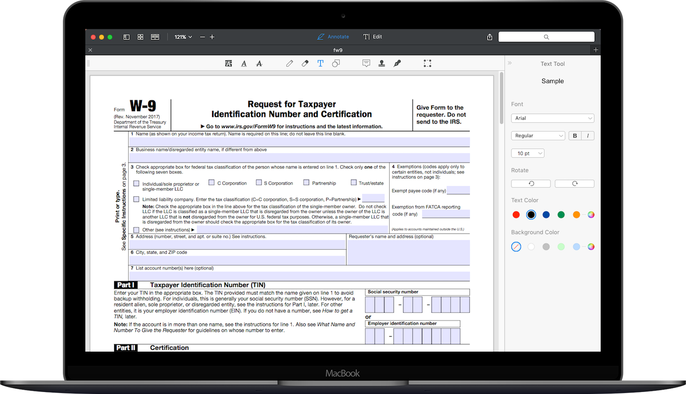 How To Fill Out IRS Form W-9 2017-2018