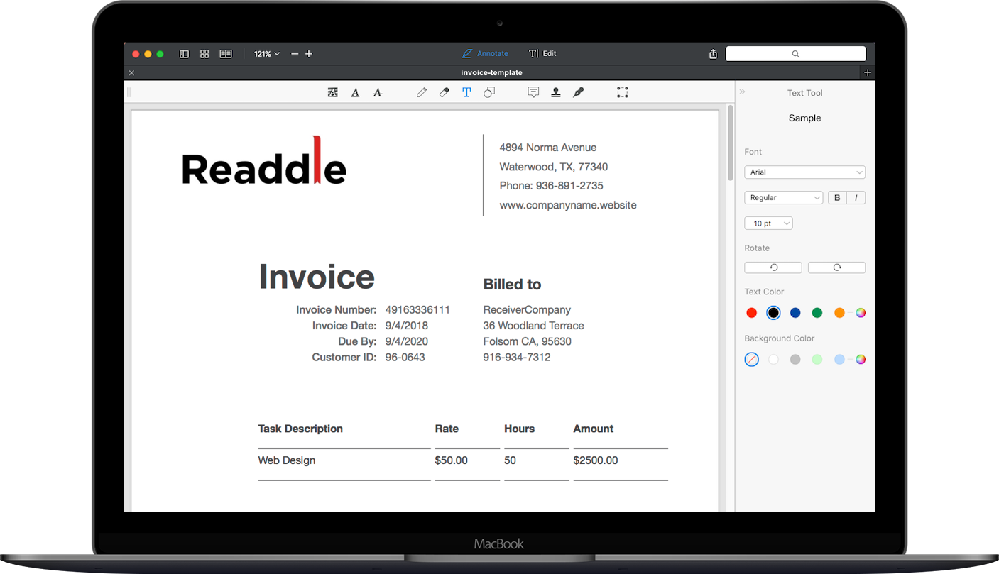 What's even easier than a free invoice template?