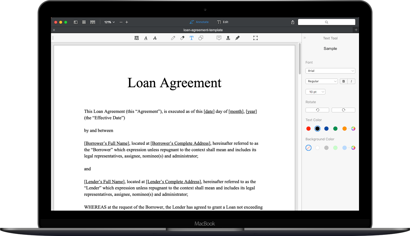 Loan Agreement Template Download Loan Agreement Sample