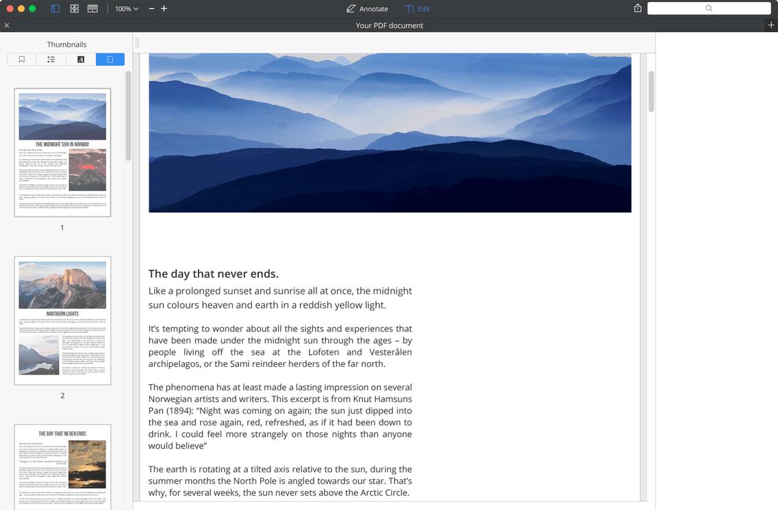 PDF Maker for Mac  Make your PDF Editable | PDF Expert