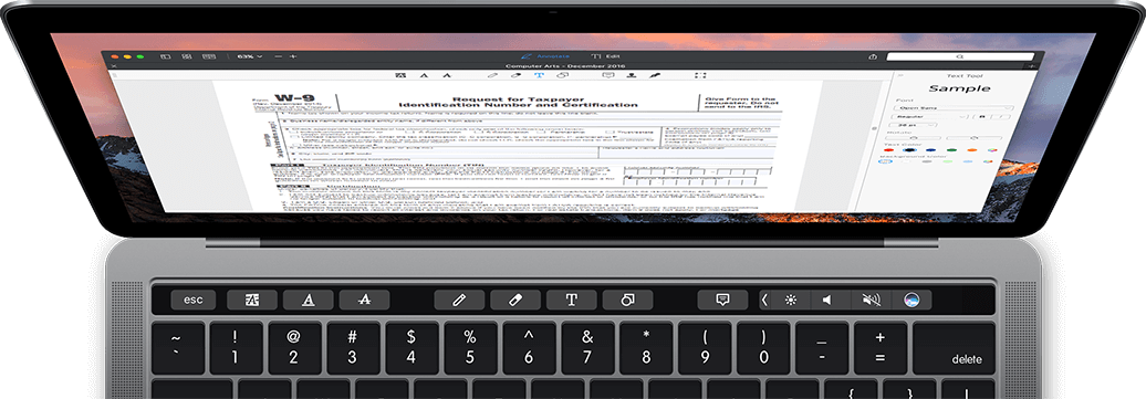 Fill out fillable and non-interactive PDFs on Mac | PDF Expert