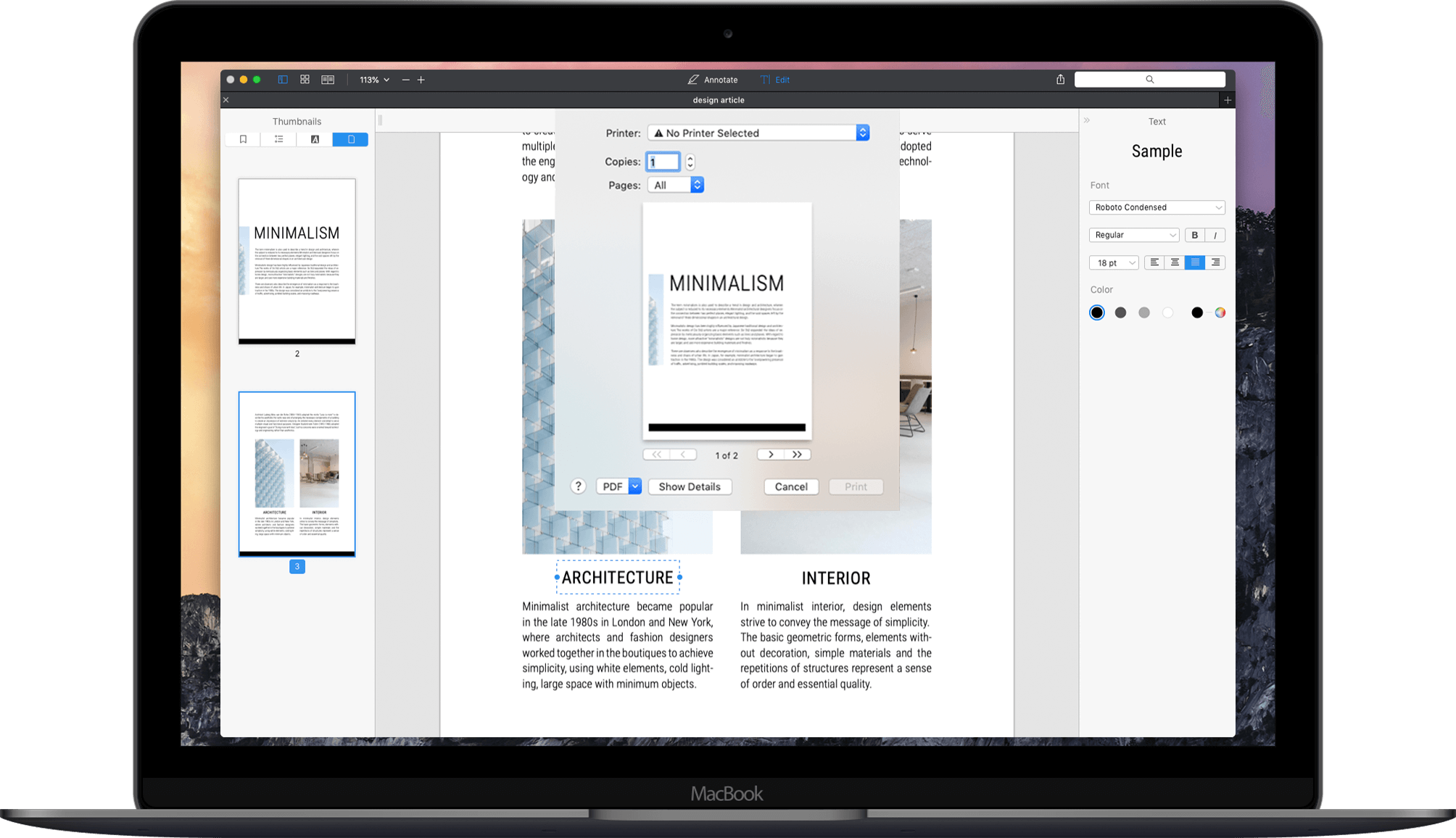 Free pdf printer for mac
