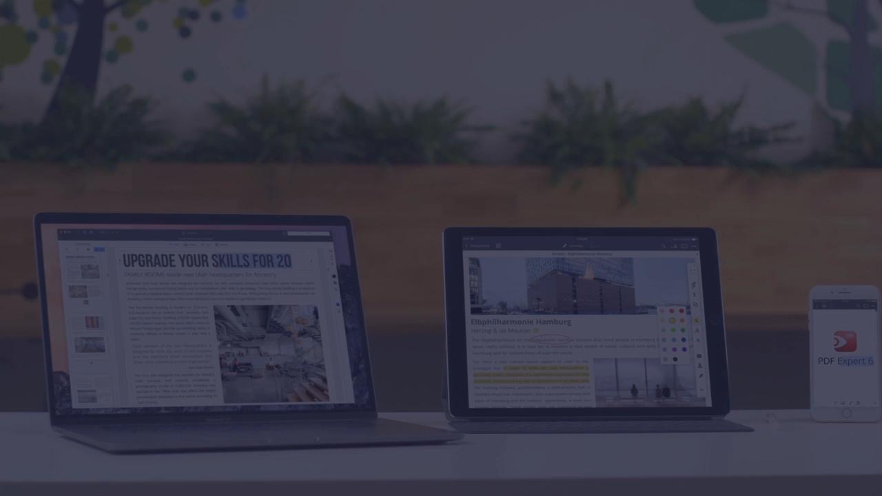 Der beste PDF-Editor für iPhone und iPad | PDF Expert 6